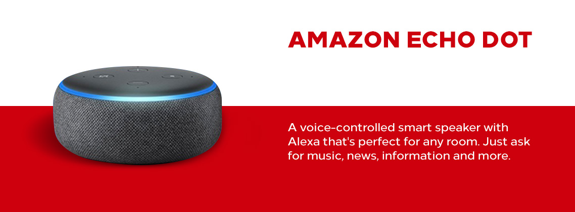 slide Amazon Echo Dot